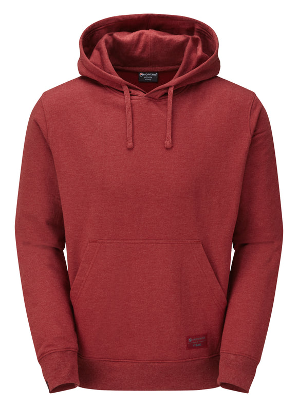 Organic Cotton Hoodie Red