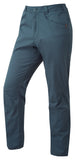 Orangic Cotton Blend Blue Pants