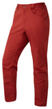 Orangic Cotton Blend Red Pants
