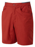 Orangic Cotton Blend red shorts