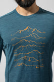 MONTANE PRIMINO 140 SUMMITS LONG SLEEVE T-SHIRT