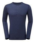 Primino 140g Long sleeve t-shirt Antarctic Blue