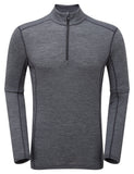 PRIMINO 140 ZIP NECK Black