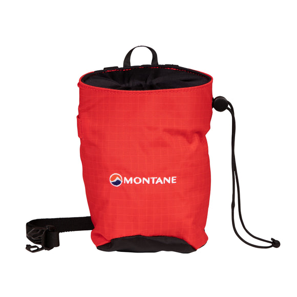 Chalk Bag Flag Red