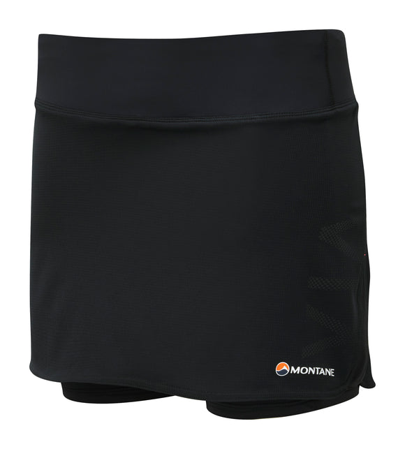 WOMEN'S TRAIL 2SK SKORT Black