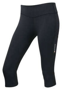 WOMEN'S TRAIL SERIES 3/4 TIGHTS Black