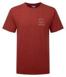Orangic Cotton Piolet Tee Redwood