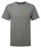 Orangic Cotton Piolet Tee  Stratus Grey
