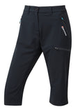 WOMEN'S DYNO STRETCH CAPRI PANT Black
