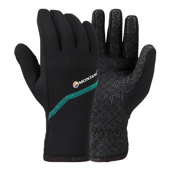 WOMEN'S POWER STRETCH PRO GRIPPY GLOVE Black