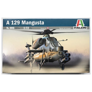 Italeri 0006, A 129 Mangusta Helicopter, Scale 1:72