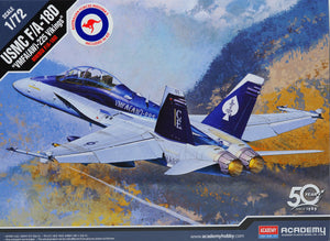Academy 12422 - F/A-18D Hornet US Marines,with AUS Decals, 1:72 scale
