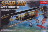 Academy 12446 -  SPAD XIII World War I Fighter, 1:72 Scale