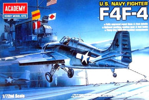 Academy 12451 - F4F-4 Wildcat, US Navy Fighter, 1:72 Scale
