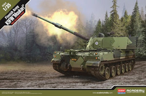 "Academy 13519 - Finnish Army, K9FIN ""Moukari"" self propelled Howitzer, Scale 1:35"