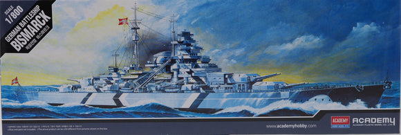 Academy 14218 - German Battleship Bismarck, 1:800 Scale