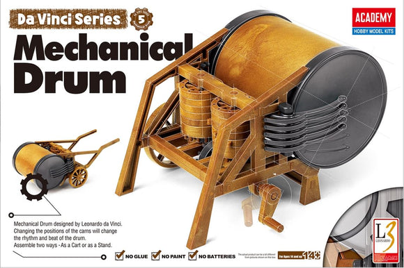 Academy 18138 Da Vinci Series - Mechanical Drum