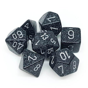 Chessex RPG Dice Set Speckled Ninja 7 pc