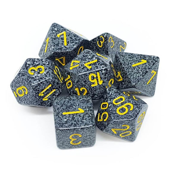 Chessex RPG Dice Set Speckled Urban Camo 7 pc