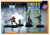 Infinity: 280011-0613, Dire Foes Defiant Truth Mission Pack 6 - Yu Jing Vs Haqqislam