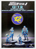 Infinity: 282006-0832. O-12 Support Pack Unit Lambda - Infinity CodeOne