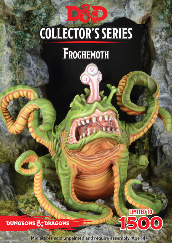 FROGHEMOTH, D&D Collector's Series, Ltd Edition of 1500, Resin Miniature