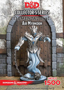 AIR MYRMIDON- Elemental Evil, D&D Collector's Series, Ltd Edition of 1500, Resin Miniature