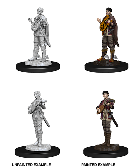 D&D Nolzur's Marvellous Miniatures - Female Half Elf Bard