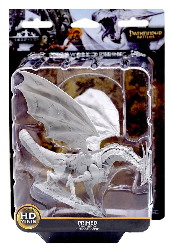 Pathfinder Deep Cuts Unpainted Miniatures - Clockwork Dragon