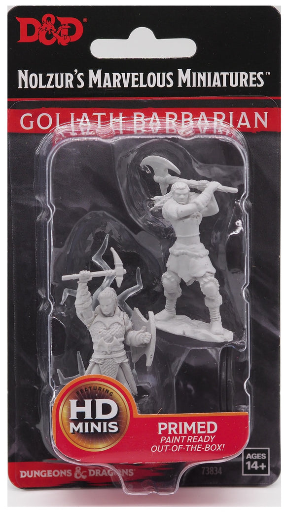 D&D Nolzur's Marvellous Miniatures - Goliath Barbarian