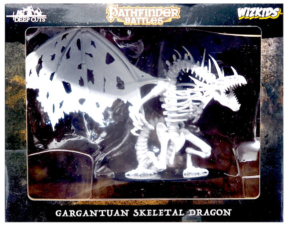 Pathfinder Battles Deep Cuts - Gargantuan Skeletal Dragon