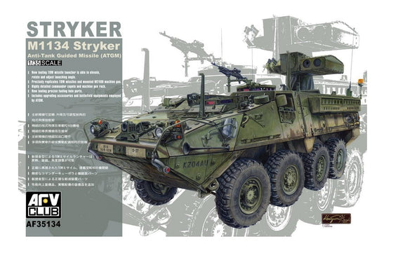 AF35134 AFV Club. M1134 Stryker Anti-Tank Guided Missile. Scale 1:35