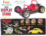 AMT1044 - Superbug Gasser, 4-in-1 kit, Street, Strip, Dune Beetle, Dune Buggy, 1:25 Scale