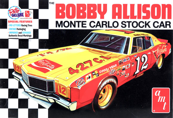AMT1064 - Bobby Allison, Monte Carlo Stock Car, Coca Cola, 1:25 Scale