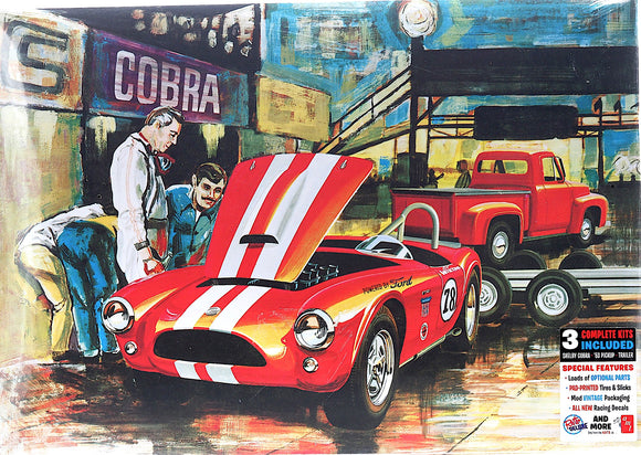 AMT1073 - Grand Prix D'Amerique, Cobra Racing Team, 1:25 Scale FREE Postage