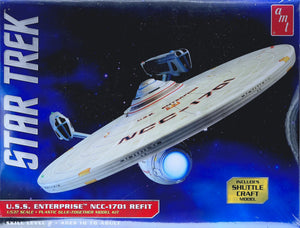 AMT1080 - Star Trek: USS Enterprise NCC-1701 Refit, 1:537 Scale