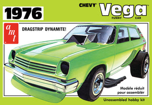 AMT1156 - 1976 Chevy Vega Funny Car, 1:25 Scale