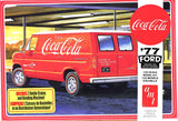 AMT1173M - 1977 Ford Delivery Van, Coca Cola, 1:25 Scale