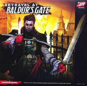 Betrayal at Baldur's Gate -- Strategy Board Game