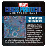 Marvel: Crisis Protocol Spaceport Showdown Game Mat