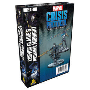 Marvel: Crisis Protocol CORVUS GLAIVE & PROXIMA MIDNIGHT Character Pack