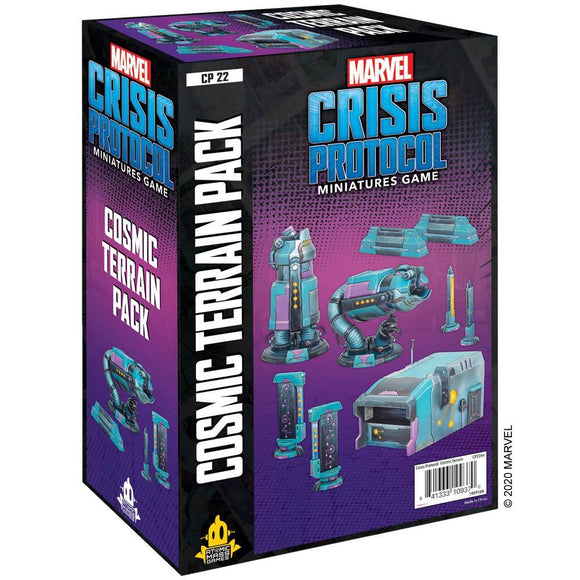 Marvel: Crisis Protocol Cosmic Terrain Pack. FREE POSTAGE