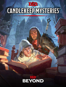 D&D Candlekeep Mysteries - 5th Edition Hardcover Sourcebook