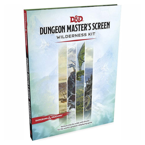 D&D Dungeon Master's Screen: Wilderness Kit - 5th Edition DM Resource