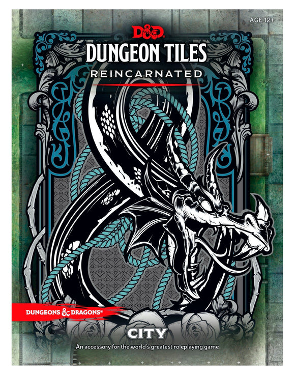 D&D Dungeon Tiles Reincarnated - City - 5th Edition