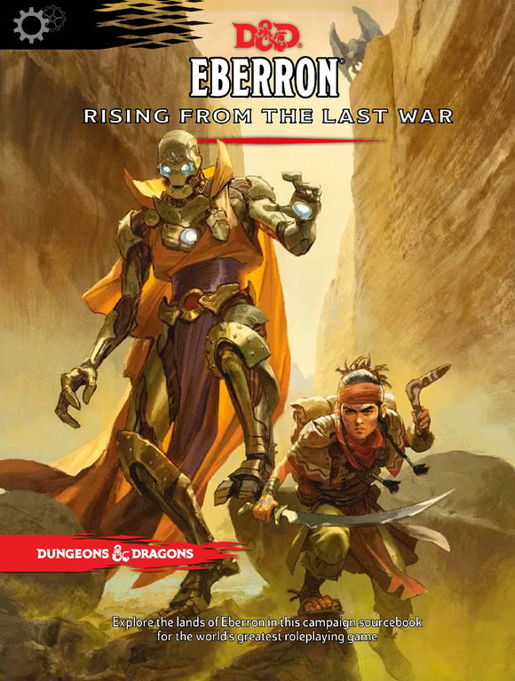 D&D Eberron Rising from the Last War - 5th Edition Campaign Sourcebook Hardcover