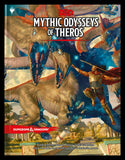 D&D Mythic Odysseys of Theros - Hardcover Sourcebook