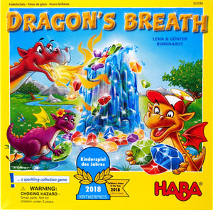 Dragon's Breath - Haba - Children's Games of the Year 2018
