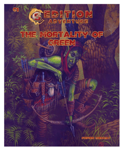 """The Mortality of Green"" - D&D Fifth Edition Adventure Module C1, Level 3 - 5."