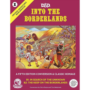 """Into the Borderlands"", D&D Original Encounters Recreated #1. FREE Postage"